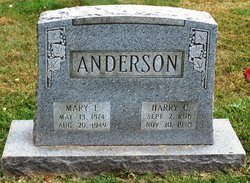 Mary F Anderson