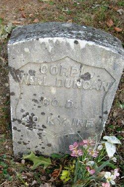 Corp William Lawson Duncan