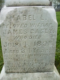 Mabel Louisa <I>Scott</I> Casey