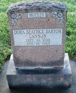 Dora Beatrice <I>Barton</I> Cannon