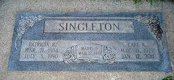 Patricia Beverly Ann <I>Roussel</I> Singleton
