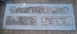 Anne Laurie <I>Cantrell</I> Hales