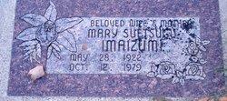 Mary Yoshiye <I>Suetsugu</I> Imaizumi