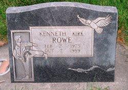 Kenneth Kirk Rowe