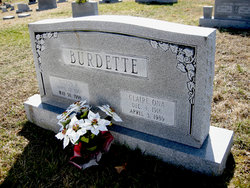 Claire Ona <I>Cottrill</I> Burdette