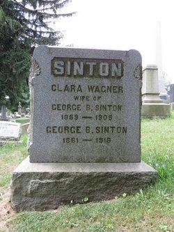 Clara <I>Wagner</I> Sinton