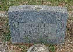 Kathleen <I>Lomax</I> Bunting