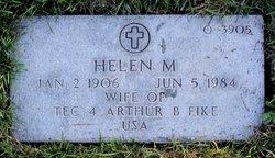 Helen M Fike