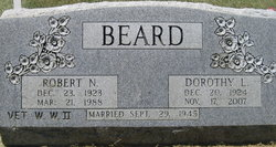 Dorothy <I>Lemon</I> Beard