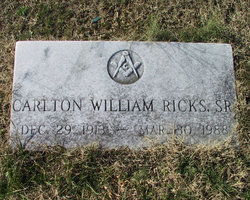 Carlton William Ricks, Sr