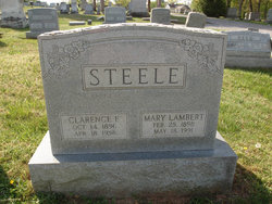 Clarence Fogelman Steele