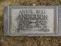 Annie Bell <I>Moore</I> Anderson