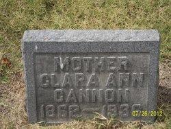 Clara Ann <I>Ijames</I> Cannon
