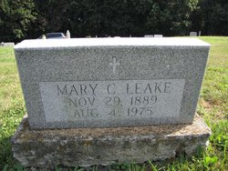 Mary C <I>Winters</I> Leake