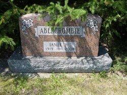 Ian E H Abercrombie