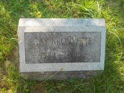 Ray Kronkhite