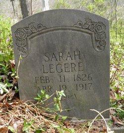 Sarah <I>Mays</I> Legere