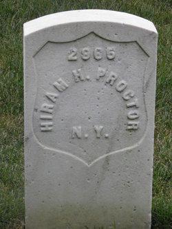 Pvt Hiram H. Proctor