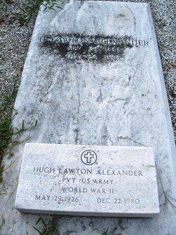 Pvt H Lawton Alexander