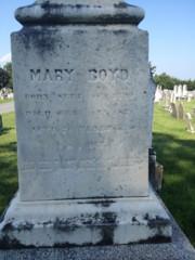 Mary <I>Meixel</I> Boyd