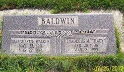 "Thadeous Melvin ""Thady"" Baldwin"