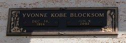 Yvonne Evalyn <I>Kobe</I> Blocksom