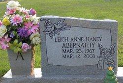 Leigh Anne <I>Haney</I> Abernathy