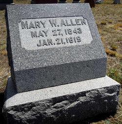 Mary J. <I>Waite</I> Allen