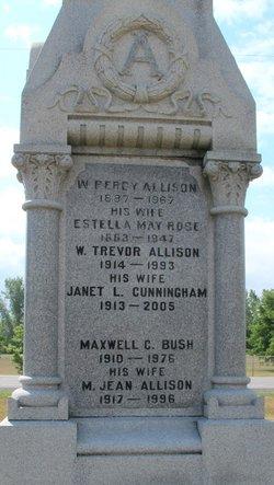 Margaret Jean <I>Allison</I> Bush