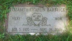 "Elizabeth ""Nicky"" <I>Chaplin</I> Barbrick"