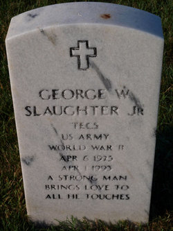 George W Slaughter, Jr