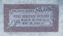 Irene <I>Bergener</I> Butcher