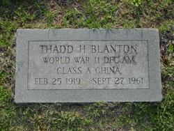 LTC Thadd Harrison Blanton