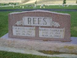 Marie <I>Sargent</I> Rees