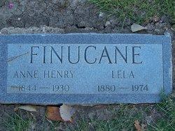 Anne Henry <I>Harrell</I> Gray-Finucane