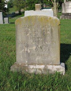 Mary Jane <I>Black</I> Burgin