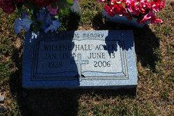 Willene <I>Hall</I> Acker