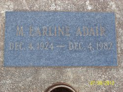 Earline M. Adair