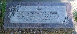 """Kevin Stephens """"Kev"""" Rowe"""