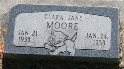 Clara Jane Moore