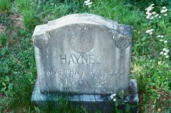 Martha Ann <I>Tilson</I> Haynes