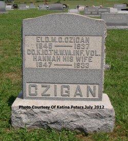 Hannah C. <I>Friedley</I> Czigan