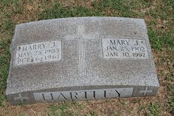 Mary Josephine <I>Krueger</I> Hartley