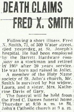 Fred Xavier Smith