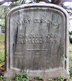 Mary <I>Odenheimer</I> Deshong