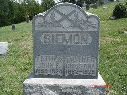 John Frederick Siemon