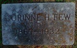 Corinne Henrietta <I>Hutchinson</I> Few