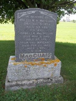 Isabella <I>MacMillan</I> MacCuaig