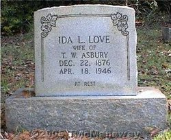 Ida L. <I>Love</I> Asbury