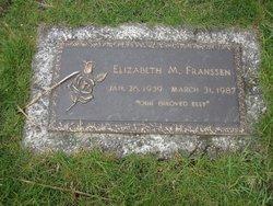 Elizabeth M. Franssen